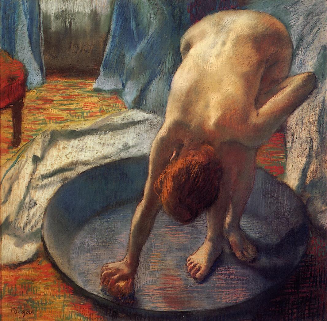 The Tub 1886 | Edgar Degas | Oil Painting