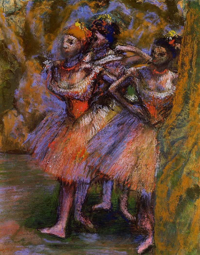 Three Dancers 1904-1906 | Edgar Degas | Oil Painting