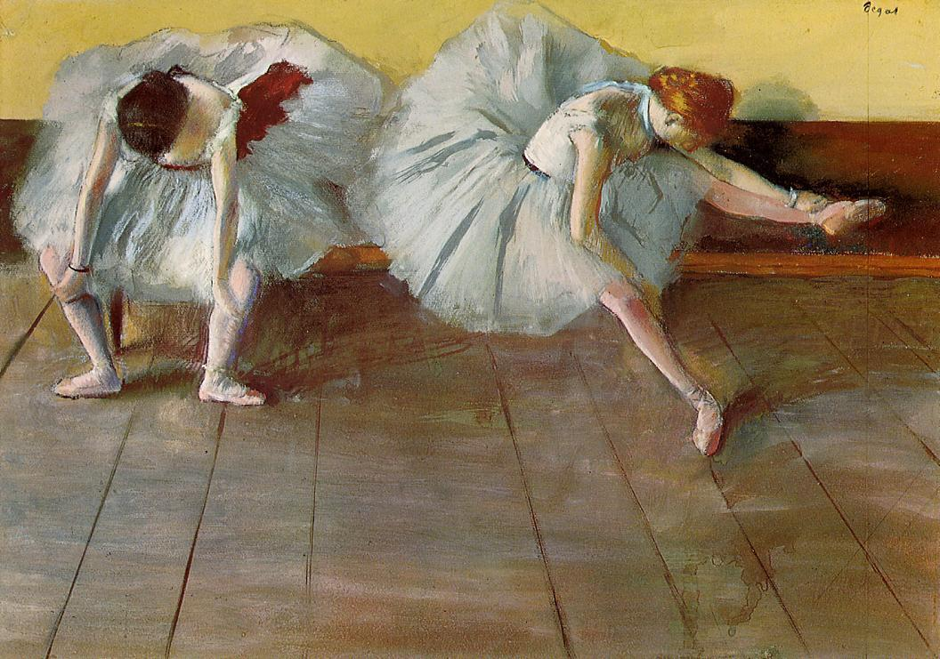 Two Ballet Dancers 1879 | Edgar Degas | Oil Painting