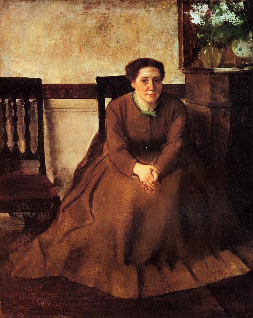Victoria Duborg 1866 | Edgar Degas | Oil Painting