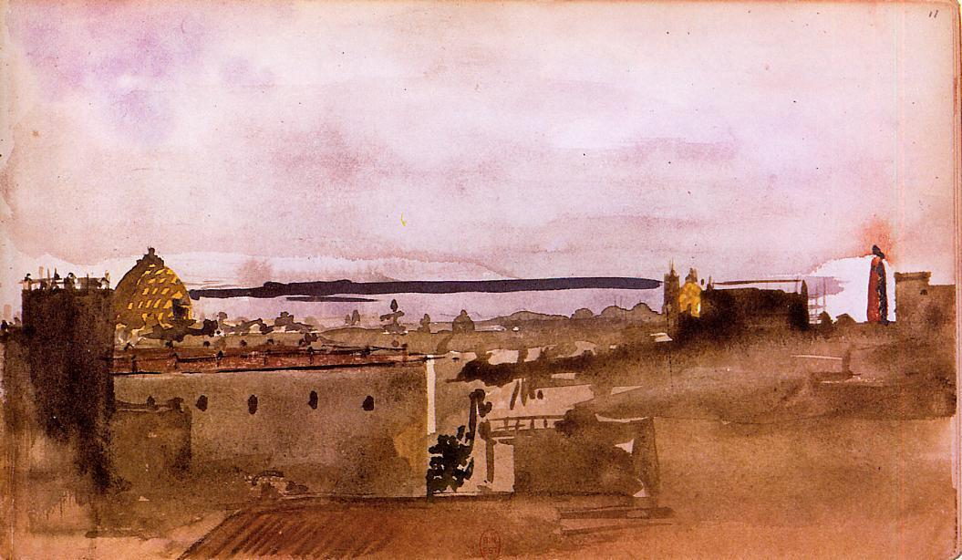 View of Naples 1860 | Edgar Degas | Oil Painting