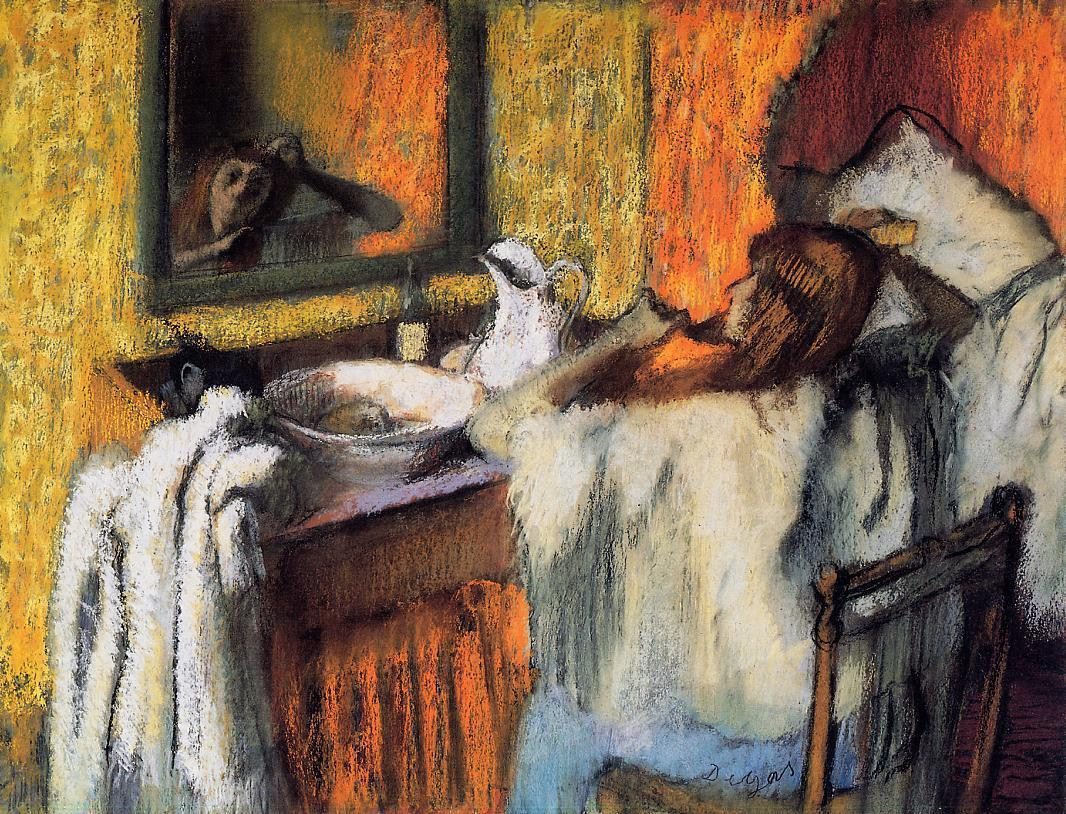 Woman at Her Toilette 1895-1900 | Edgar Degas | Oil Painting
