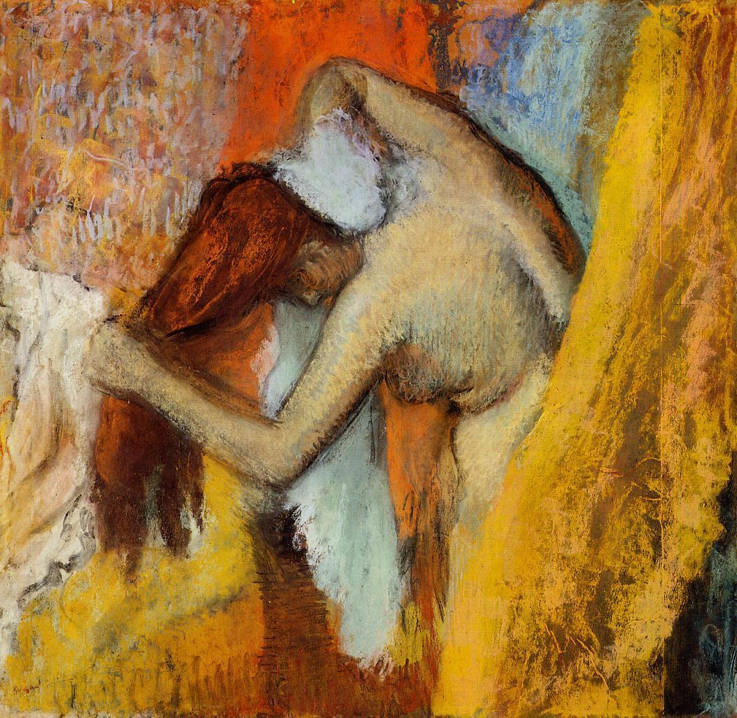 Woman at Her Toilette 1900-1910 | Edgar Degas | Oil Painting