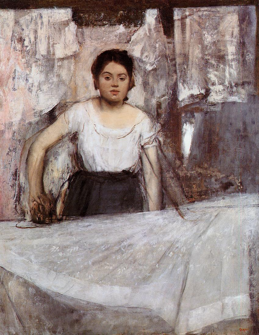 Woman Ironing 1872 | Edgar Degas | Oil Painting