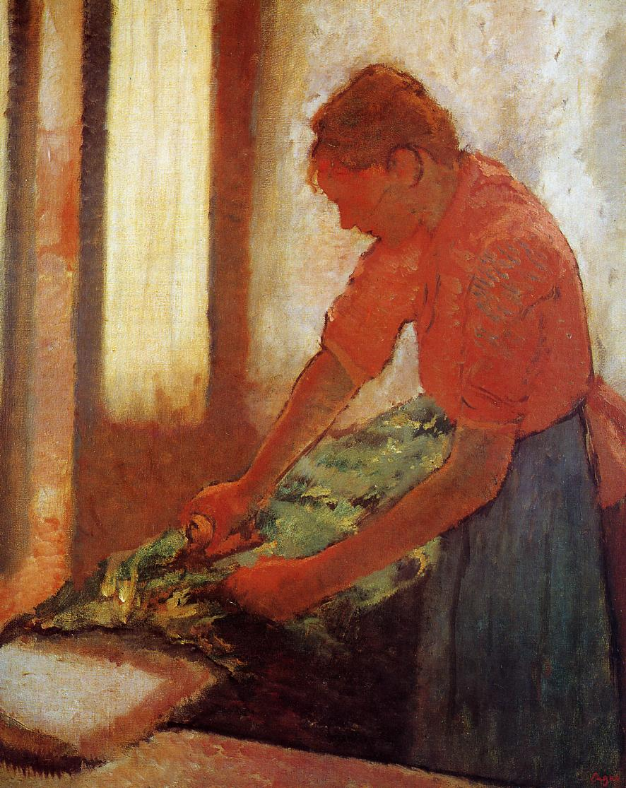 Woman Ironing 1880 | Edgar Degas | Oil Painting