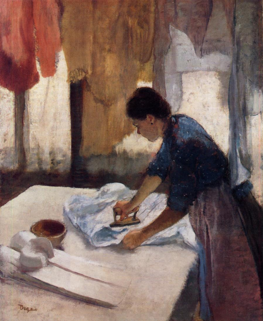 Woman Ironing 1887 | Edgar Degas | Oil Painting