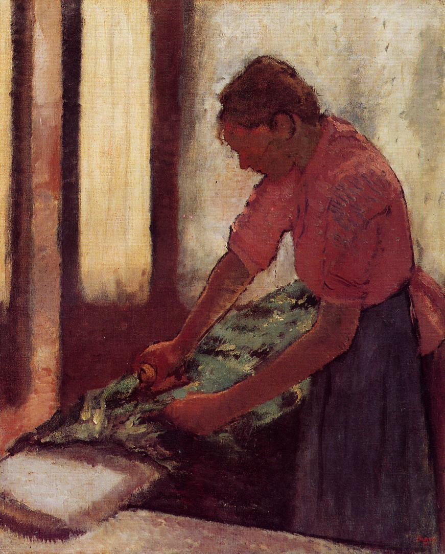 Woman Ironing 1892-1895 | Edgar Degas | Oil Painting