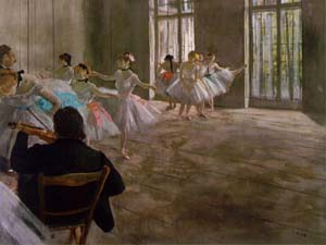 The Dance School | Edgar Degas | Oil Painting