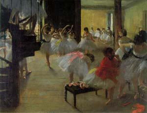 Ecole de Danse -School of Dance | Edgar Degas | Oil Painting