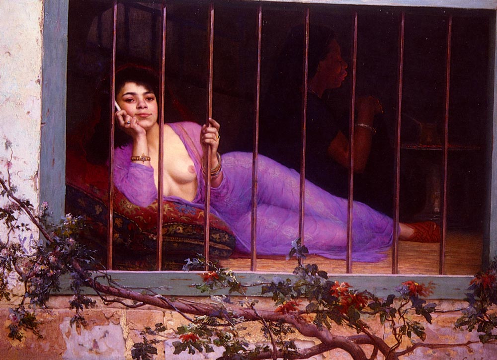 LOdalisque | Edmond Comte De Grimberghe | Oil Painting