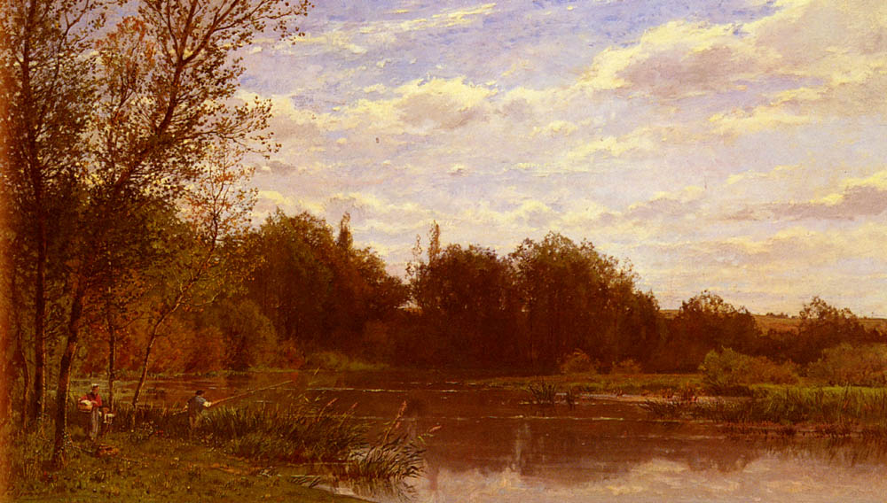 La Famille Du Pecheur | Edmond Marie Petitjean | Oil Painting