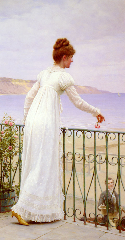 A Favour | Edmund Blair-Leighton | Oil Painting
