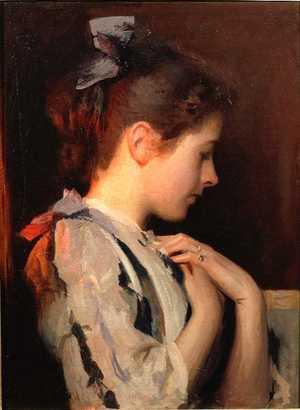 Amethyst | Edmund C Tarbell | Oil Painting
