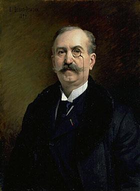 Portrait De M.G.Broustet 1897 | Edouard Bernard Debat-Ponson | Oil Painting