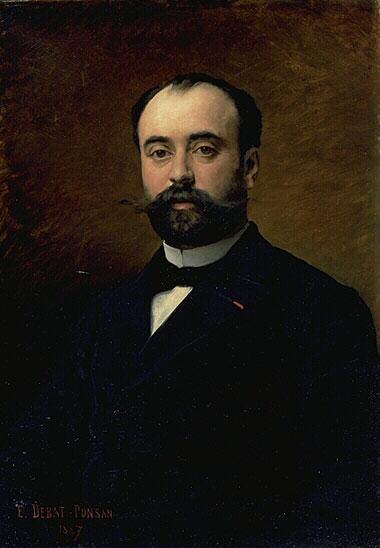 Portrait Du Professeur Paul Redard 1887 | Edouard Bernard Debat-Ponson | Oil Painting