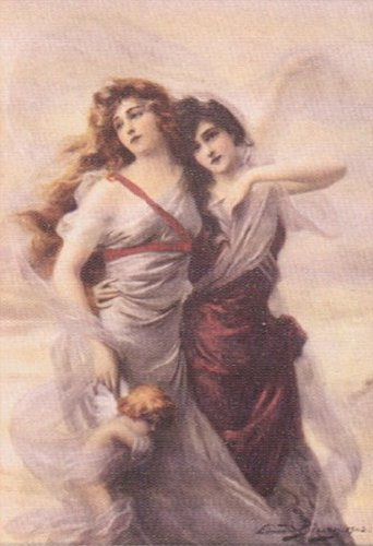 Enchanted Maidens 1902 | Edouard Bisson | Oil Painting