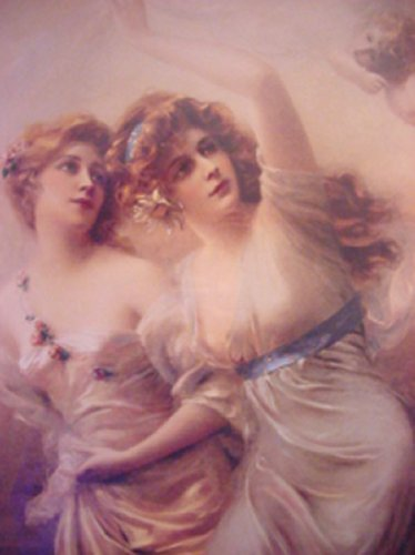 Two Maidens | Edouard Bisson | Oil Painting