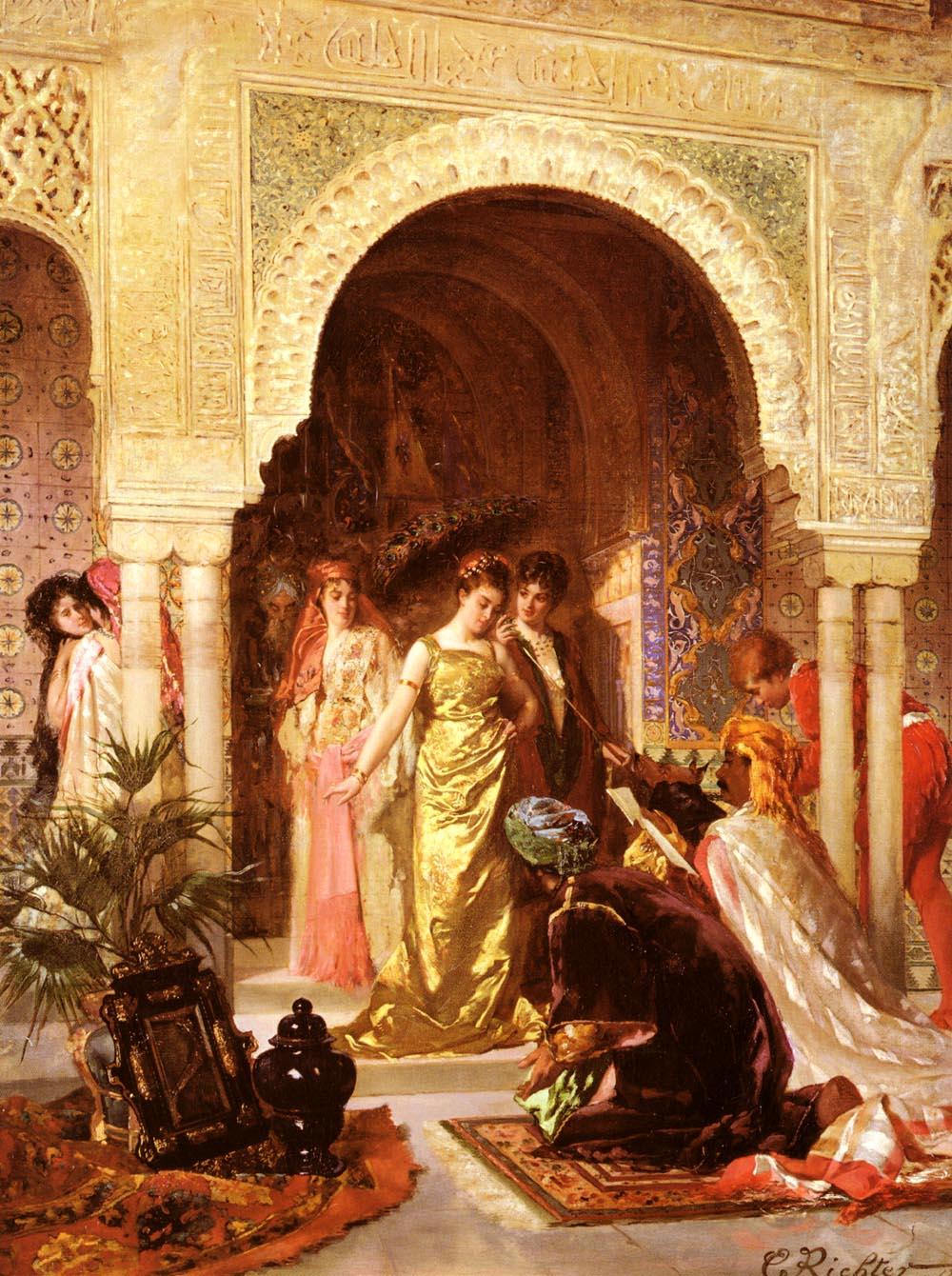 Loffrande | Edouard Frederic Wilhelm Richter | Oil Painting