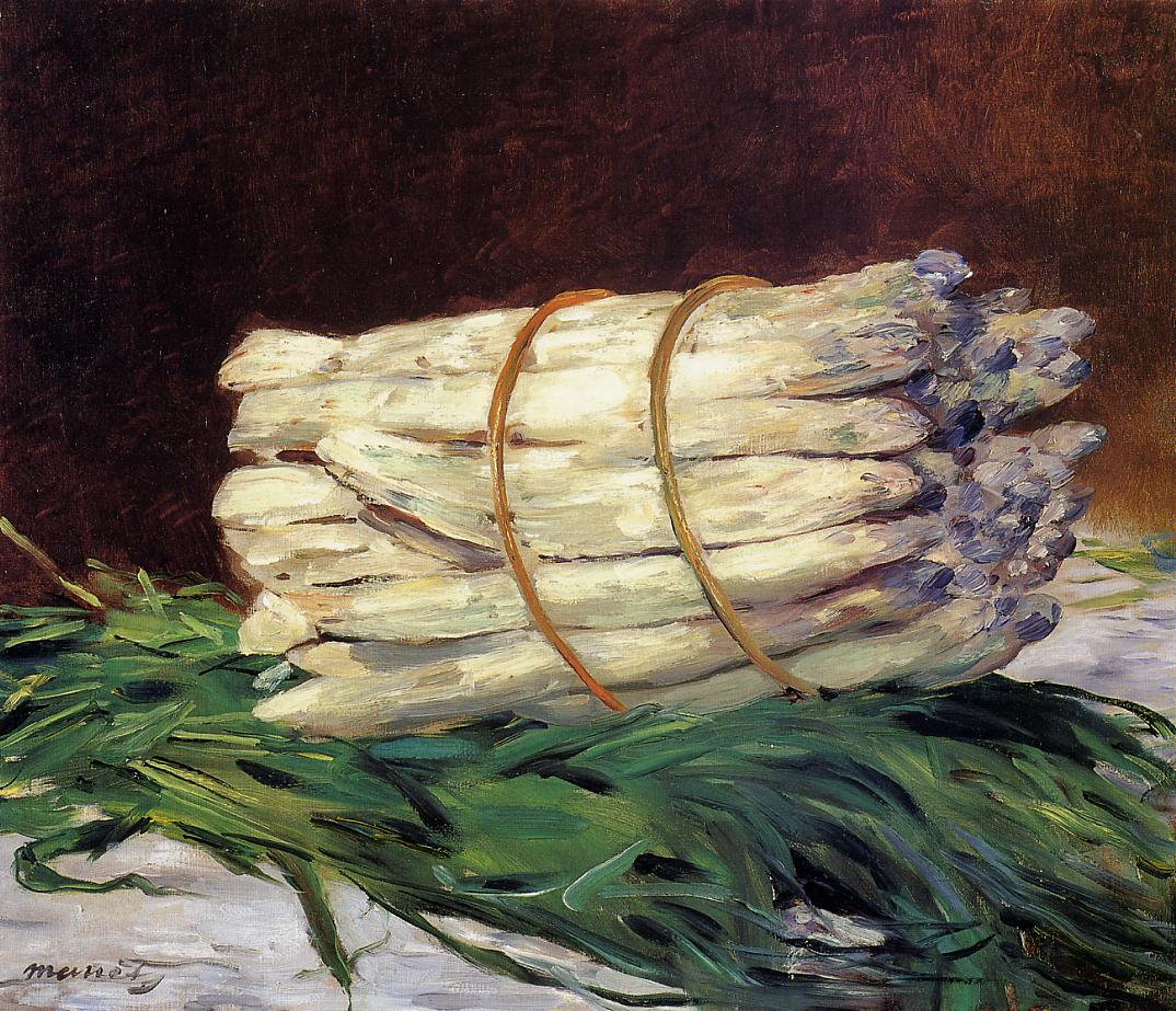 A Bunch of Asparagus 1880 | Edouard Manet | Oil Painting