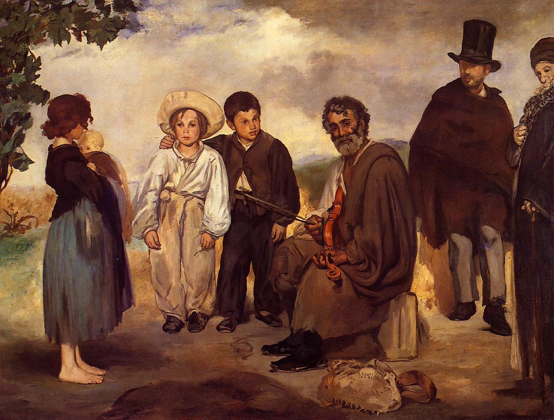 The Old Musician 1862 | Edouard Manet | Oil Painting