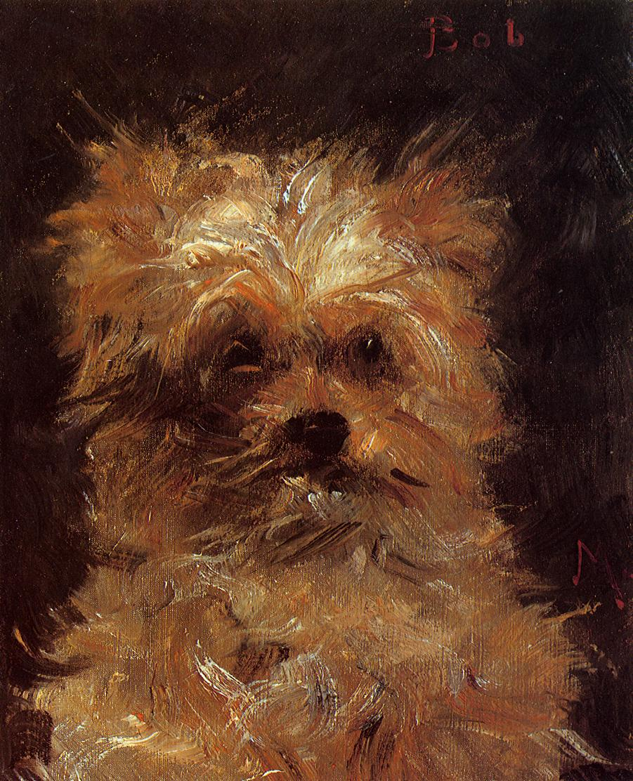 Head of a Dog Bob 1876 | Edouard Manet | Oil Painting