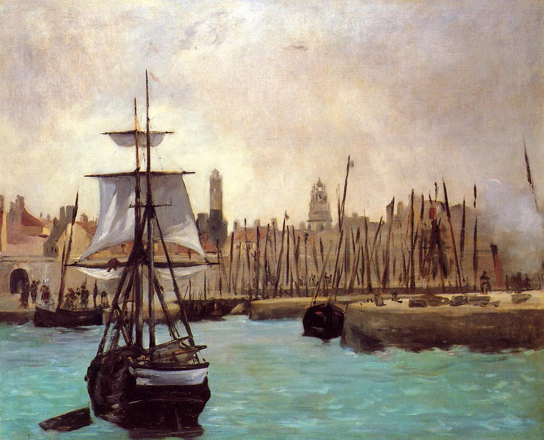 The Port of Calais 1871 | Edouard Manet | Oil Painting