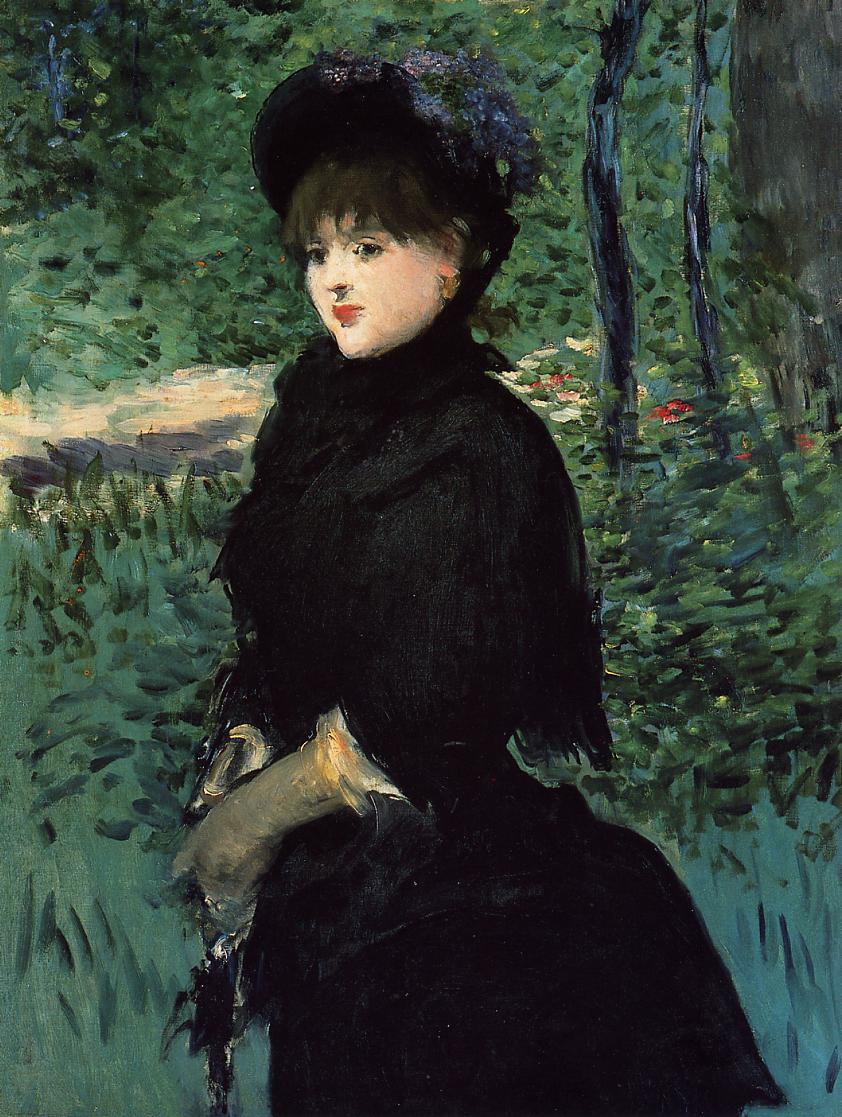 The Promenade 1880 | Edouard Manet | Oil Painting