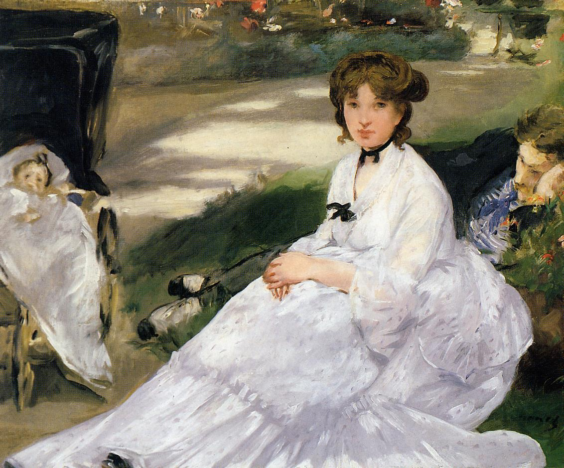 In the Garden 1870 | Edouard Manet | Oil Painting