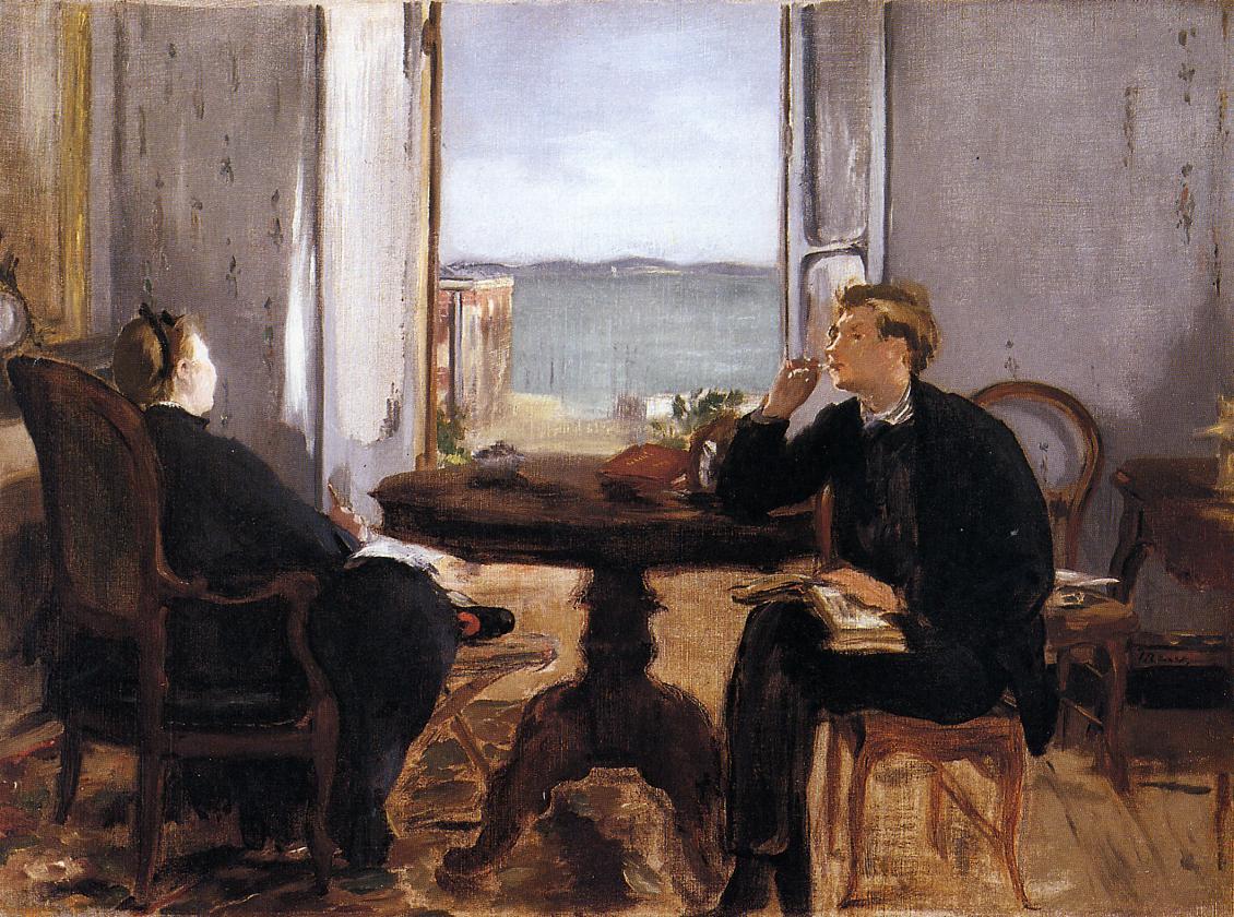 Interior at Arcachon 1871   Edouard Manet   Oil Painting