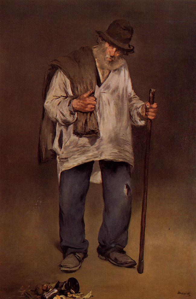The Ragpicker 1869 | Edouard Manet | Oil Painting