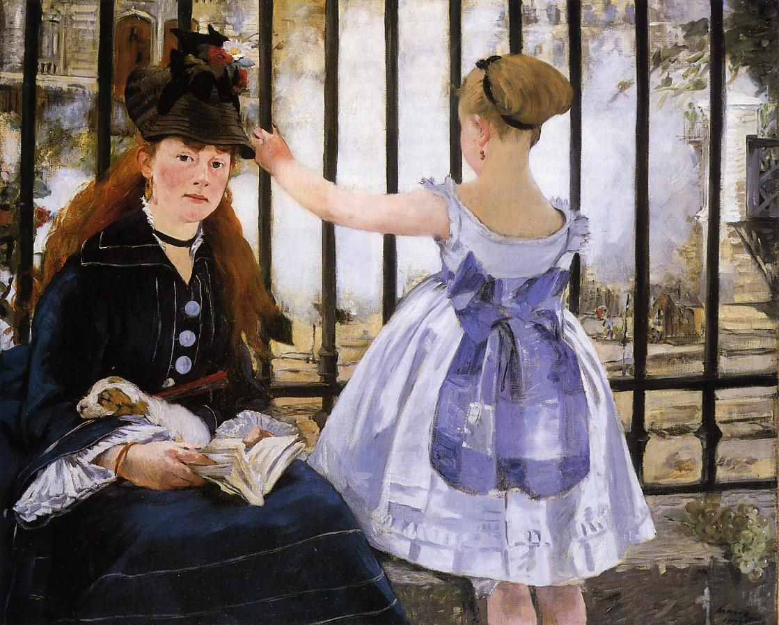 The Railroad 1873 | Edouard Manet | Oil Painting
