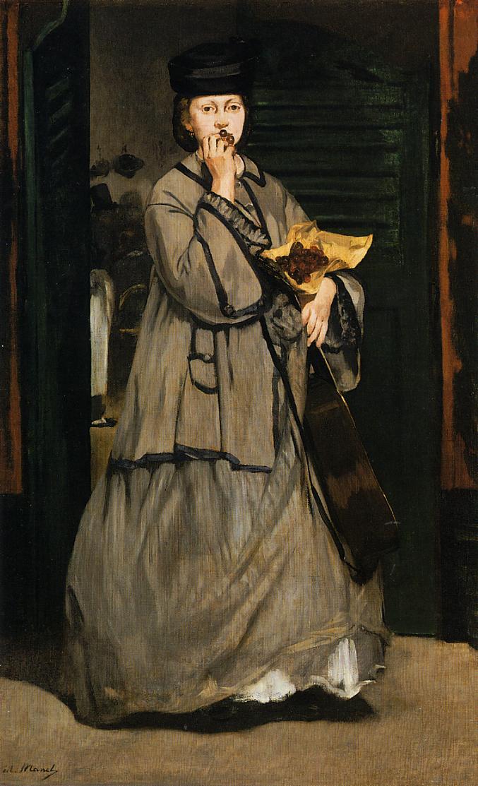 The Street Singer 1862 | Edouard Manet | Oil Painting