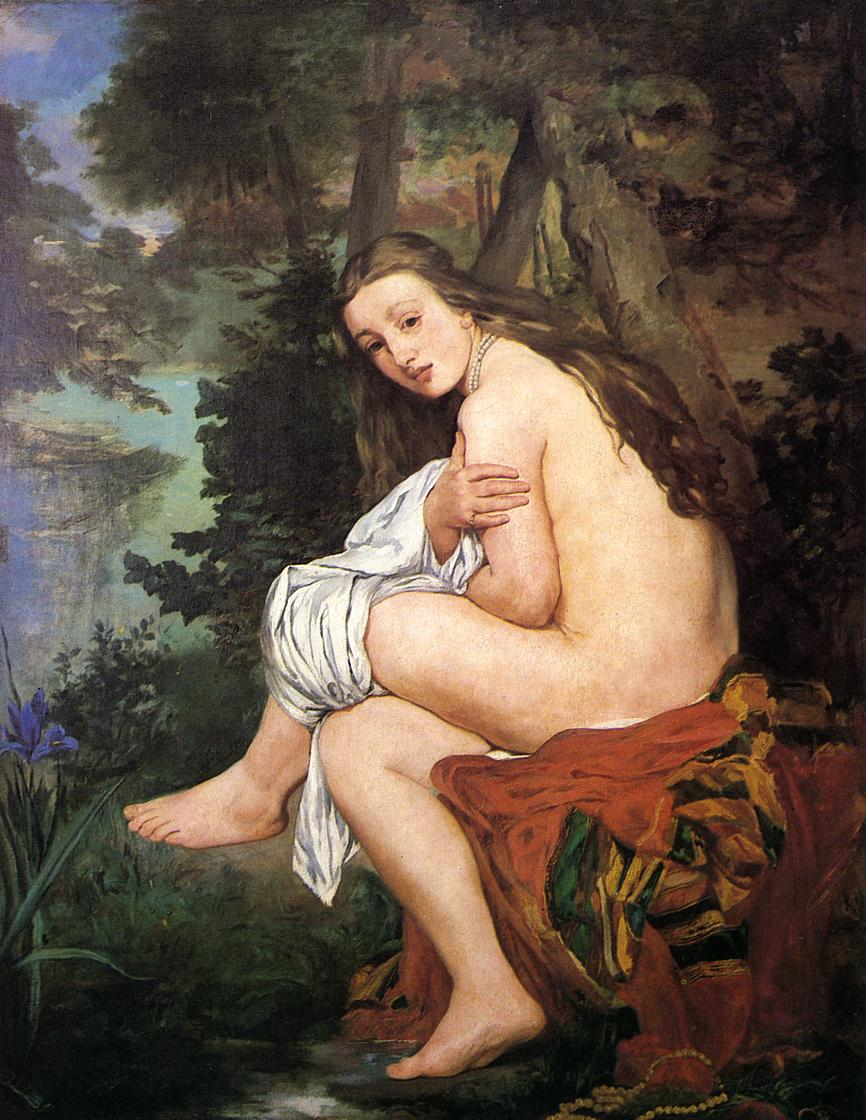 The Surprised Nymph 1859 1861 | Edouard Manet | Oil Painting