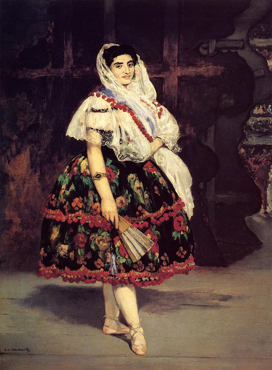 Lola de Valence 1862 | Edouard Manet | Oil Painting