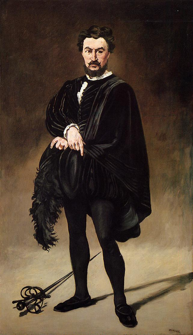 The Tragic Actor 1865 1866 | Edouard Manet | Oil Painting