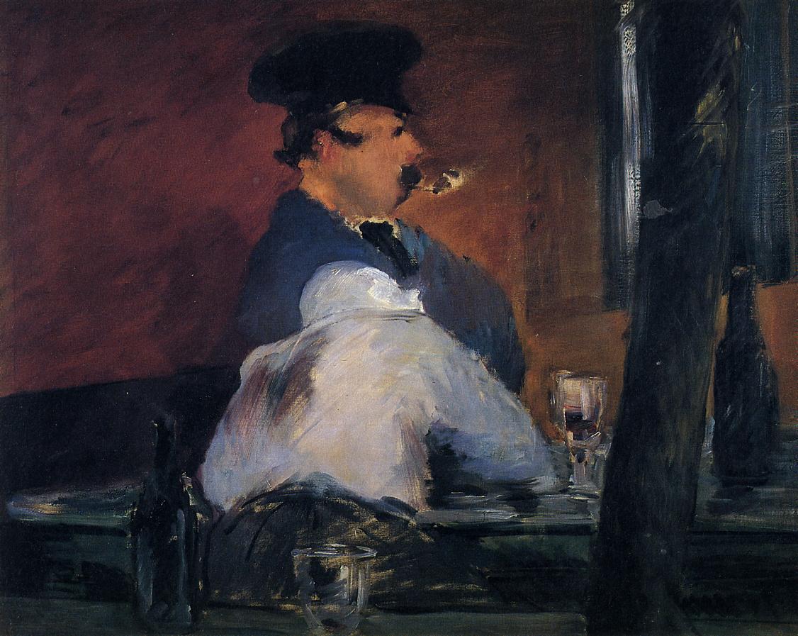 The Tavern (aka Open Air Cabaret) 1878 | Edouard Manet | Oil Painting