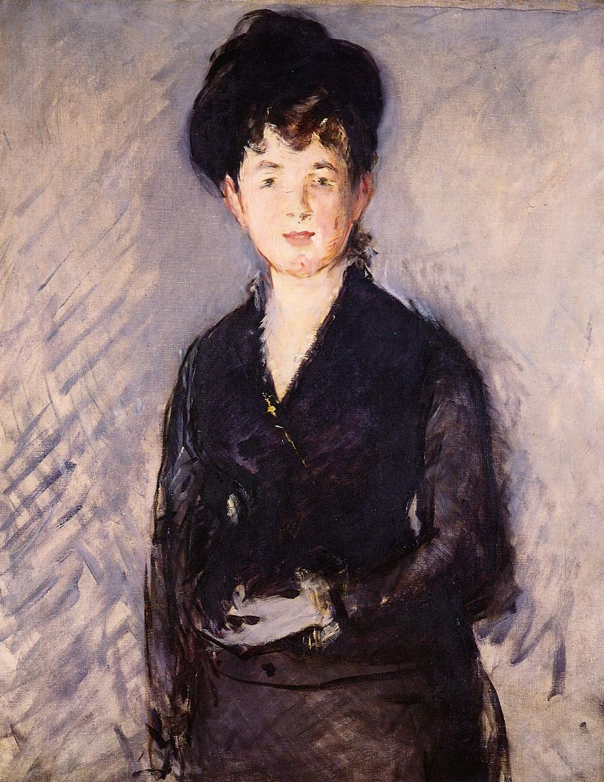 Woman with a Gold Pin 1879 | Edouard Manet | Oil Painting