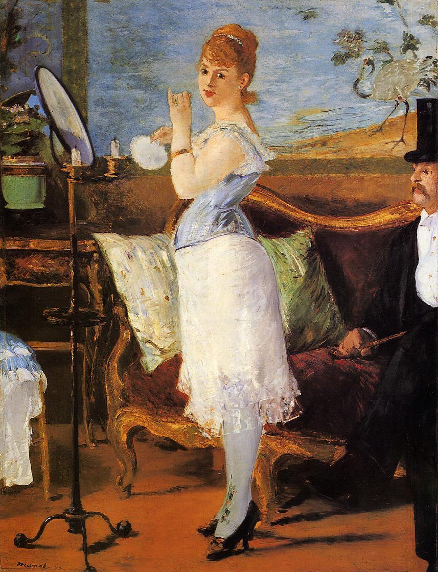 Nana 1877 | Edouard Manet | Oil Painting