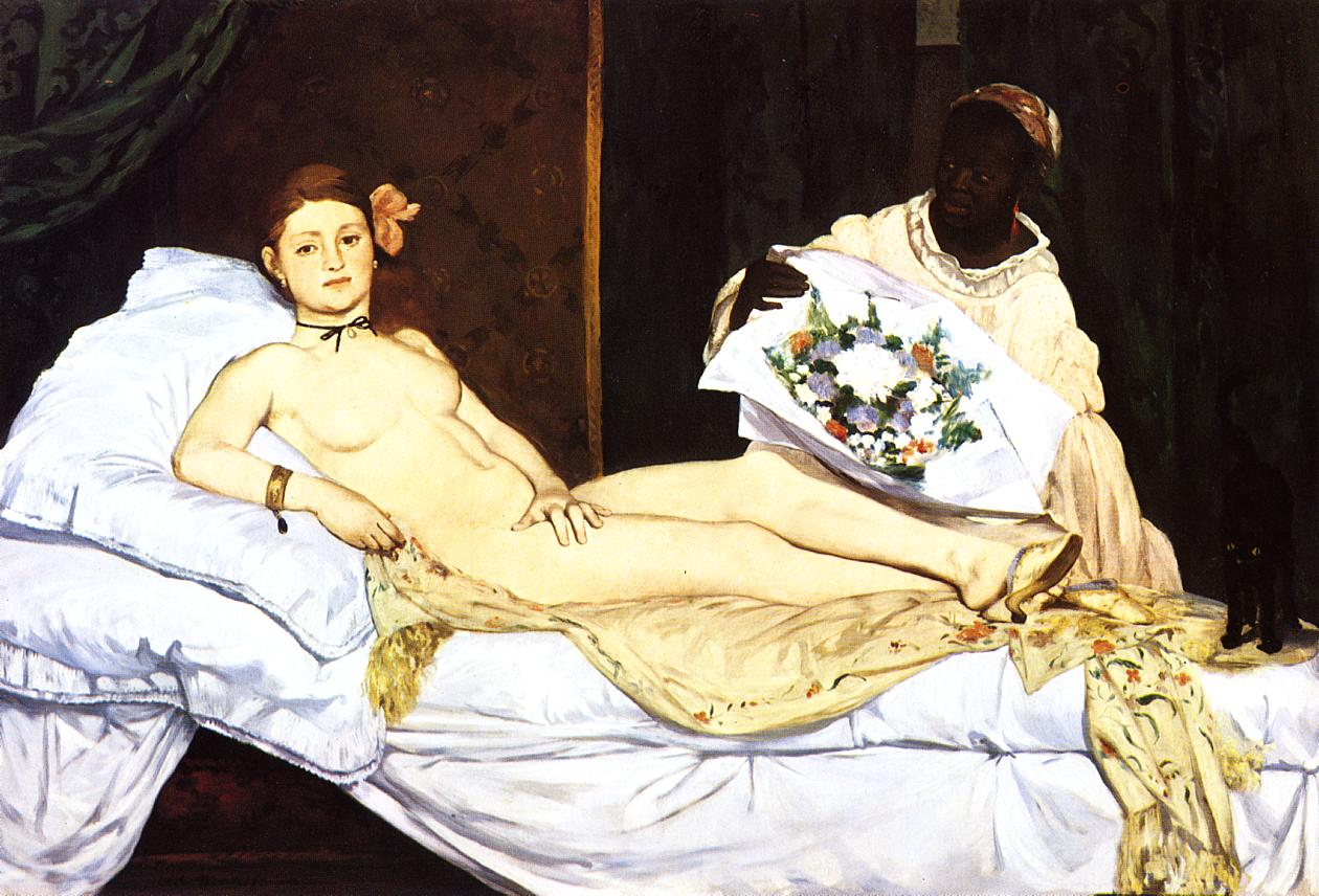 Olympia 1863 | Edouard Manet | Oil Painting