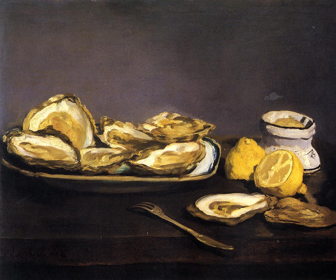 Oysters 1862 | Edouard Manet | Oil Painting