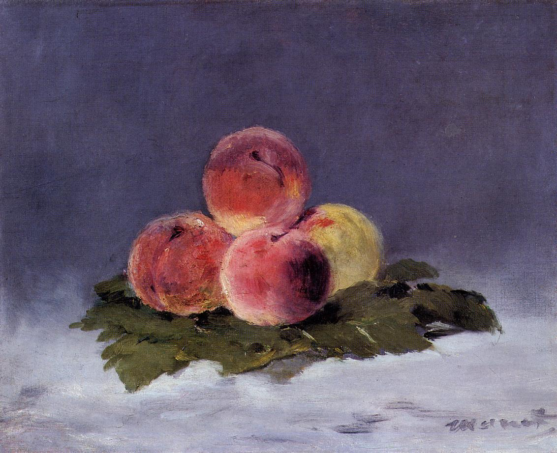 Peaches 1882 | Edouard Manet | Oil Painting