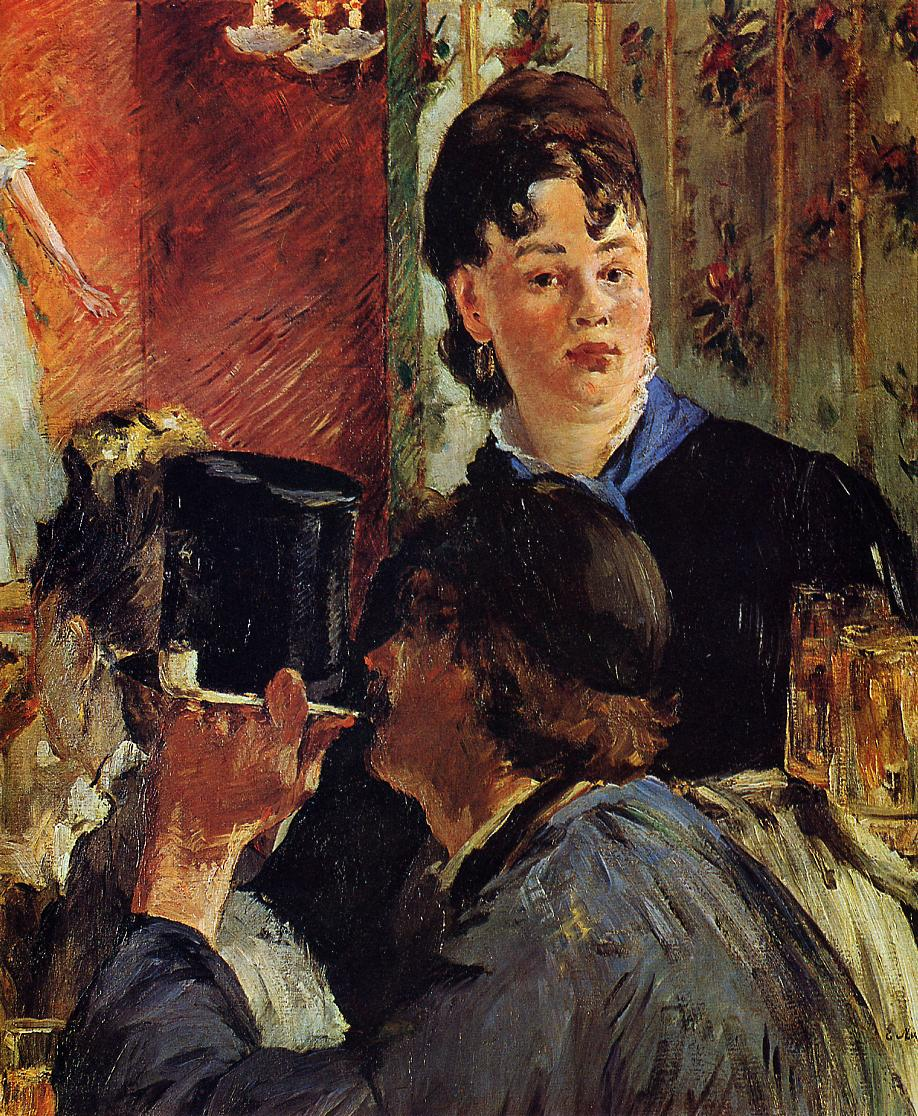 The Waitress (aka The Beer Serving Girl) 1878 1879 | Edouard Manet | Oil Painting