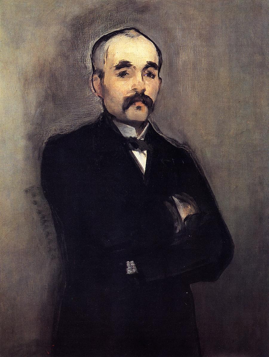 Portrait of Clemenceau 1879-1880 | Edouard Manet | Oil Painting