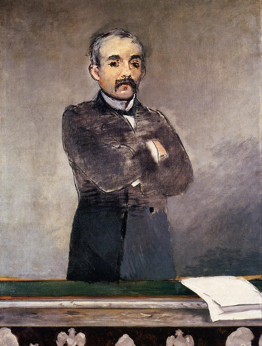 Portrait of Clemenceau at the Tribune 1879 1880 | Edouard Manet | Oil Painting