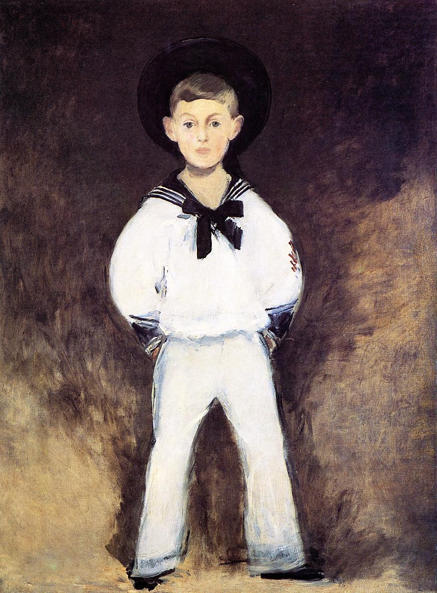 Portrait of Henry Bernstein as a Child 1881 | Edouard Manet | Oil Painting