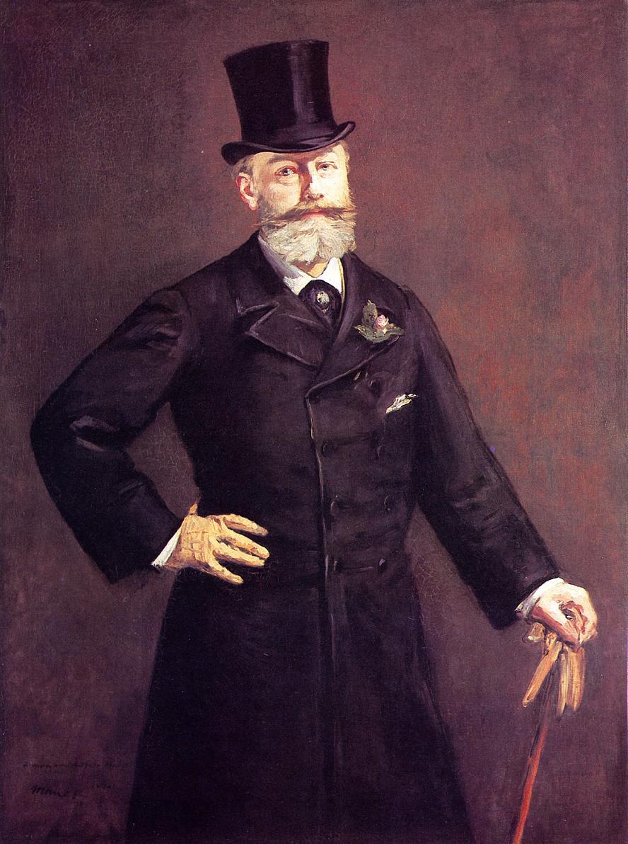 Portrait of M Antonin Proust 1880 | Edouard Manet | Oil Painting