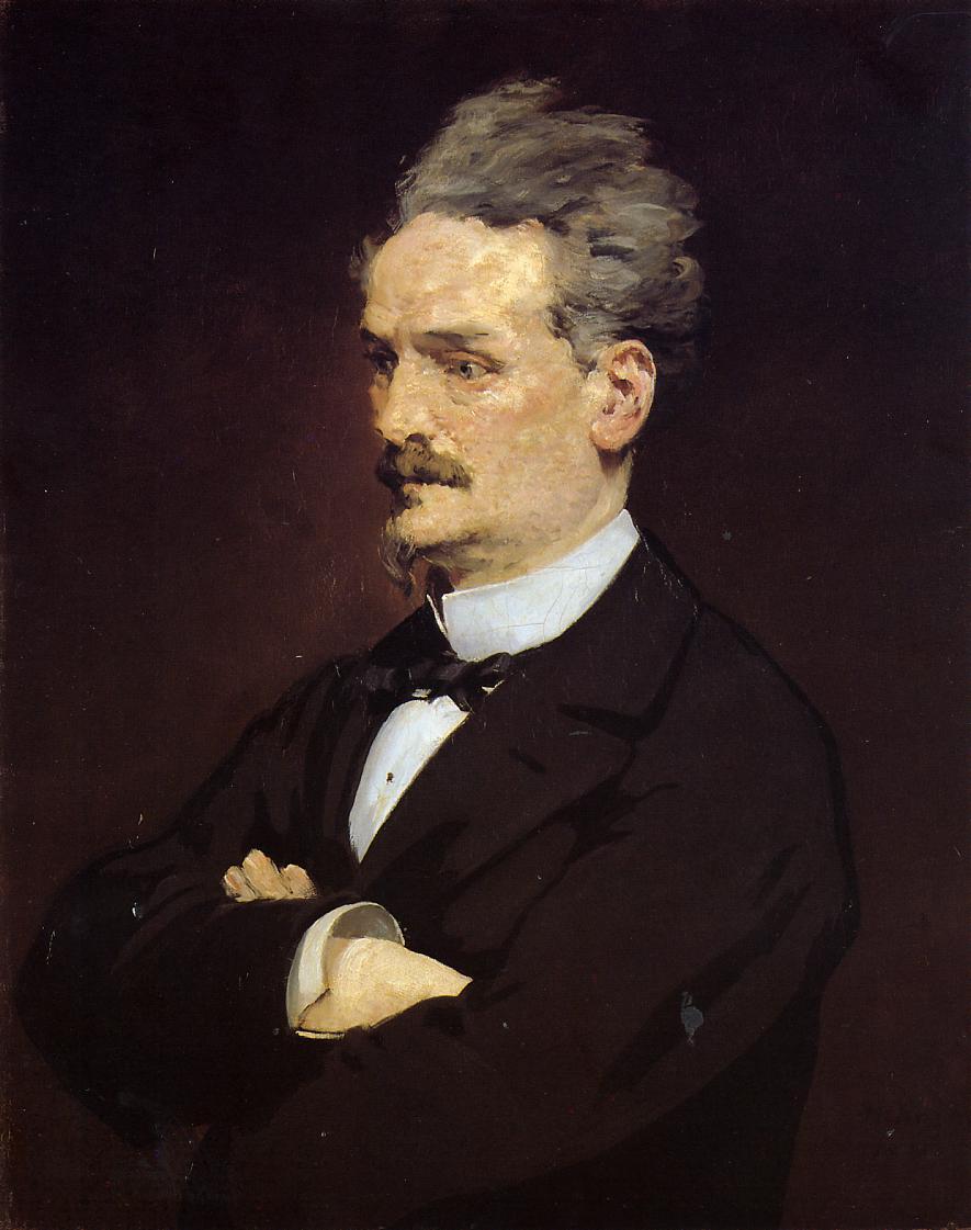 Portrait of M Henri Rochefort 1881 | Edouard Manet | Oil Painting