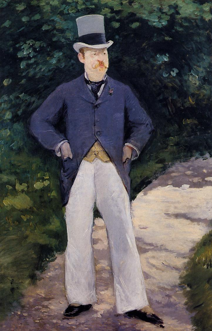 Portrait of Monsieur Brun 1879 | Edouard Manet | Oil Painting