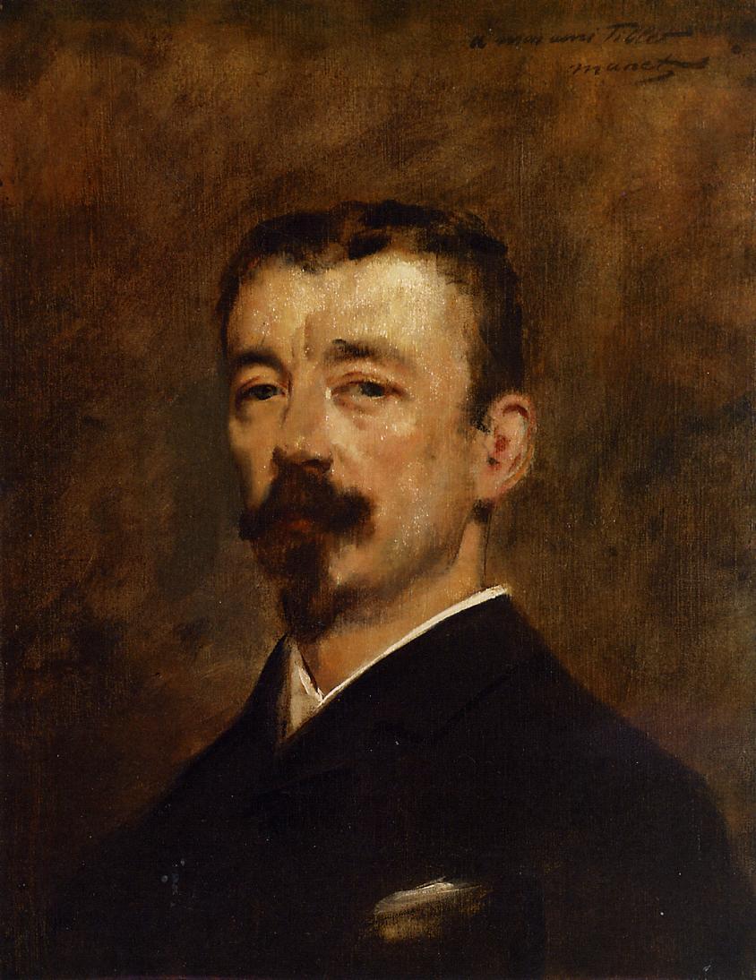 Portrait of Monsieur Tillet 1871 | Edouard Manet | Oil Painting