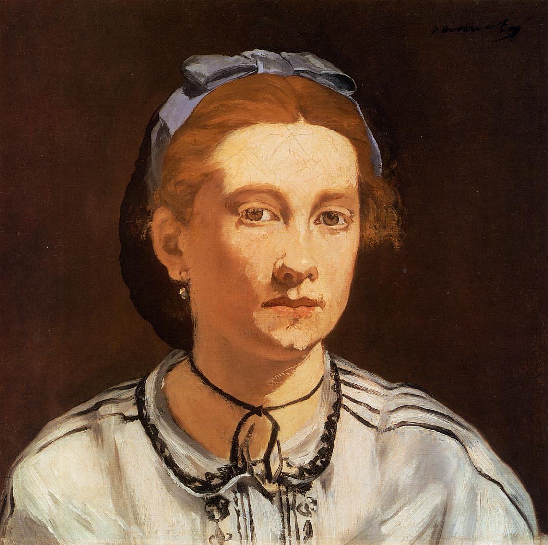 Portrait of Victorine Meurent 1862 | Edouard Manet | Oil Painting